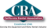 Expo Events & Tents is a member of the California Rental Association