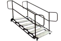 Rental store for 6 step Stair   With Rails in Fresno CA