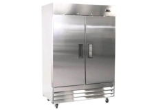 Rental store for Refrigerator, Stainless Steel 2-Door in Fresno CA