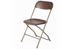 Rental store for Folding Brown   Beige Chair in Fresno CA