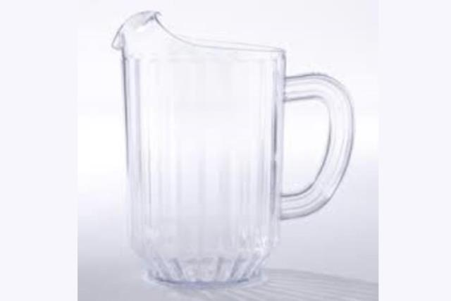 Where to find Water Pitcher - Plastic  60 oz. in Fresno