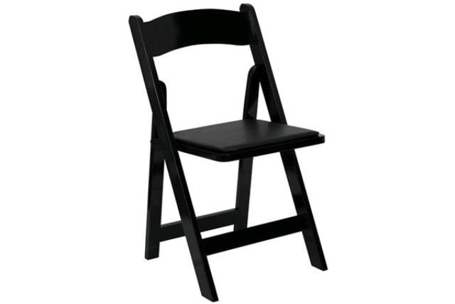 Where to find Chair, Garden Style Black in Fresno