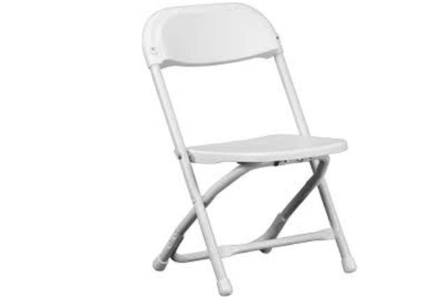 Where to find Chair, Children s White Folding in Fresno