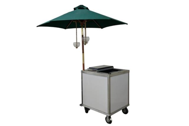 Where to find Ice Cream Cart w  Green Umbrella in Fresno