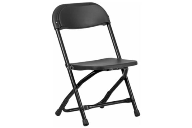 Where to find Chair, Children s Black Folding in Fresno