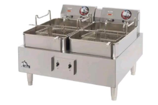 Where to find Fryer Dbl, 50 amp Double basket 240v 3ph in Fresno