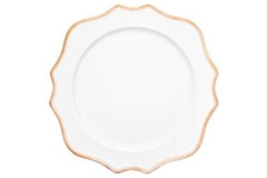 Rental store for Salad Dessert Plate, Trieste Gold 8 in Fresno CA