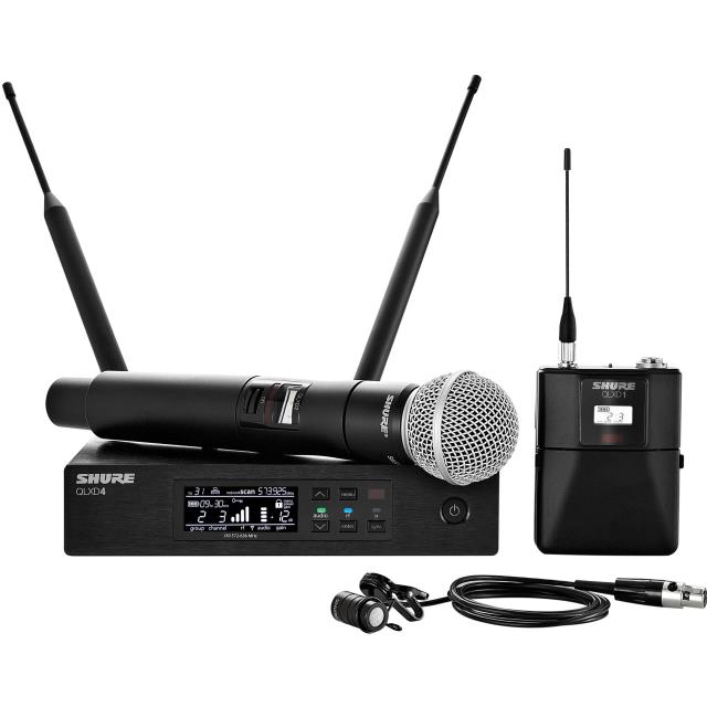 Where to find Shure QLXD digital wireless receiver in Fresno