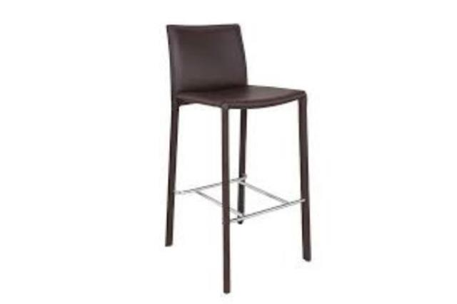 Where to find Barstool, Black Padded w  Back in Fresno