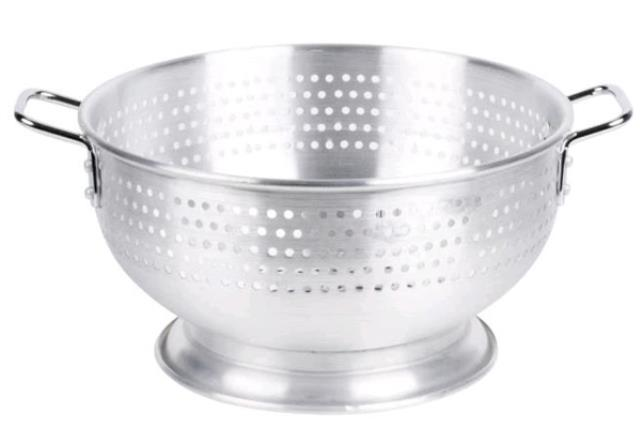 Where to find Colander 12QT Aluminum in Fresno
