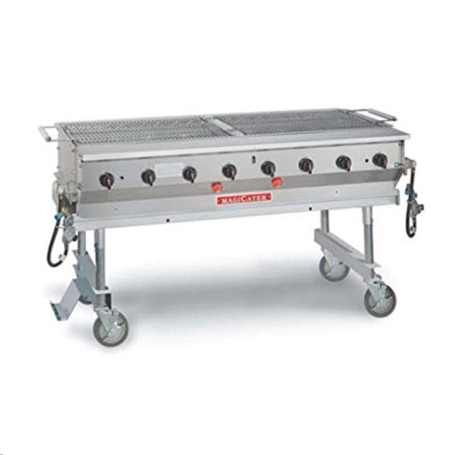 Where to find BBQ Grill 8 Burner Propane Magi Cater in Fresno
