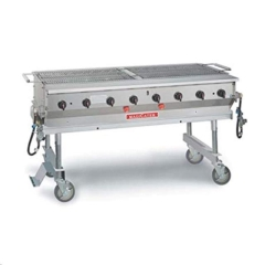 Rental store for Grill 8 Burner Propane 60  Magi Cater in Fresno CA