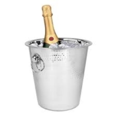 Rental store for Champagne Bucket 4 Quart Stainless Steel in Fresno CA