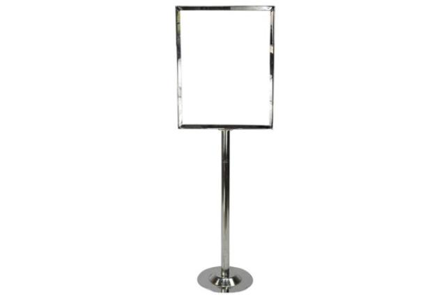 Where to find Sign Stanchion Large in Fresno