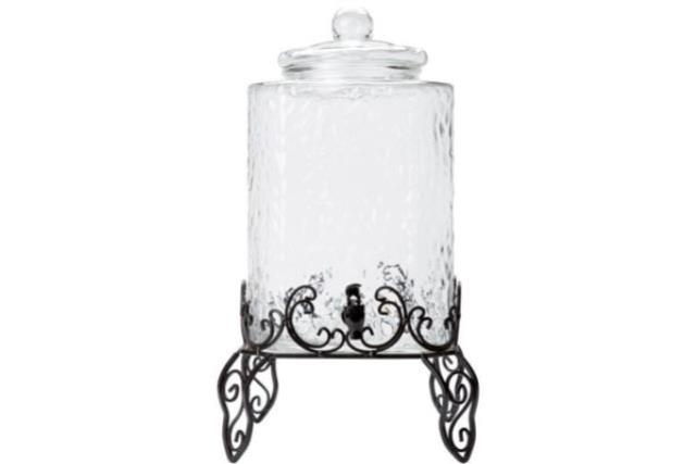 Where to find Hammered Glass Drink Dispenser 5 Gallon in Fresno