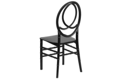Rental store for Phoenix Black Resin Chair in Fresno CA