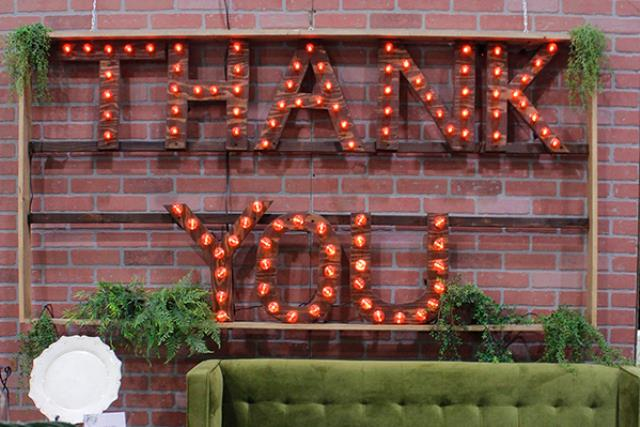 Where to find Thank You Sign in Fresno