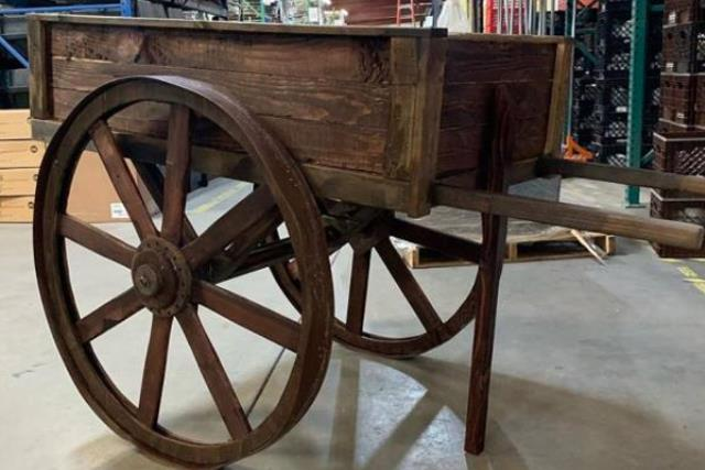 Where to find Wood  Produce Cart in Fresno