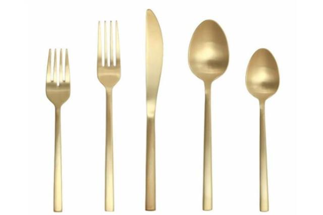 Where to find Arezzo Gold Flatware in Fresno
