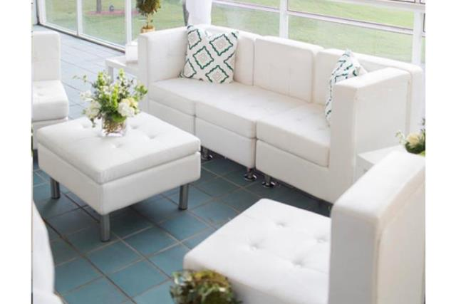 Where to find Leather Lounge Furniture, White in Fresno