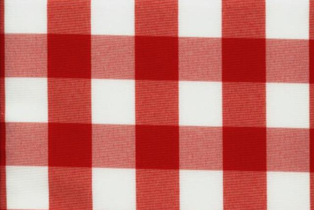 Where to find Red   White Check Linens in Fresno