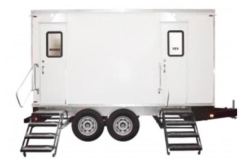 Rental store for 2 Station Luxury Mobile Restroom Trailer 11  2 in Fresno CA