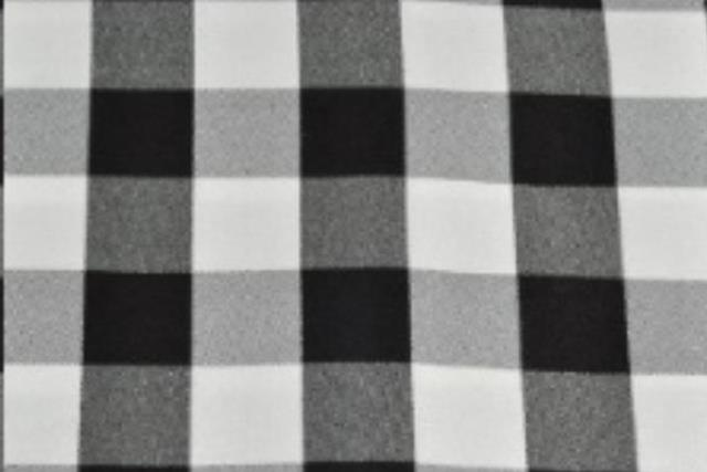 Where to find Black   White Check Linens in Fresno