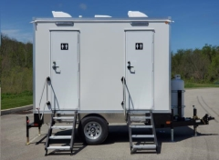 Rental store for 2 Station Shower and Restroom Trailer Combo in Fresno CA