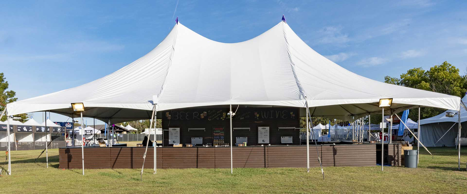Event Rentals in Fresno, Clovis, and the Central Valley